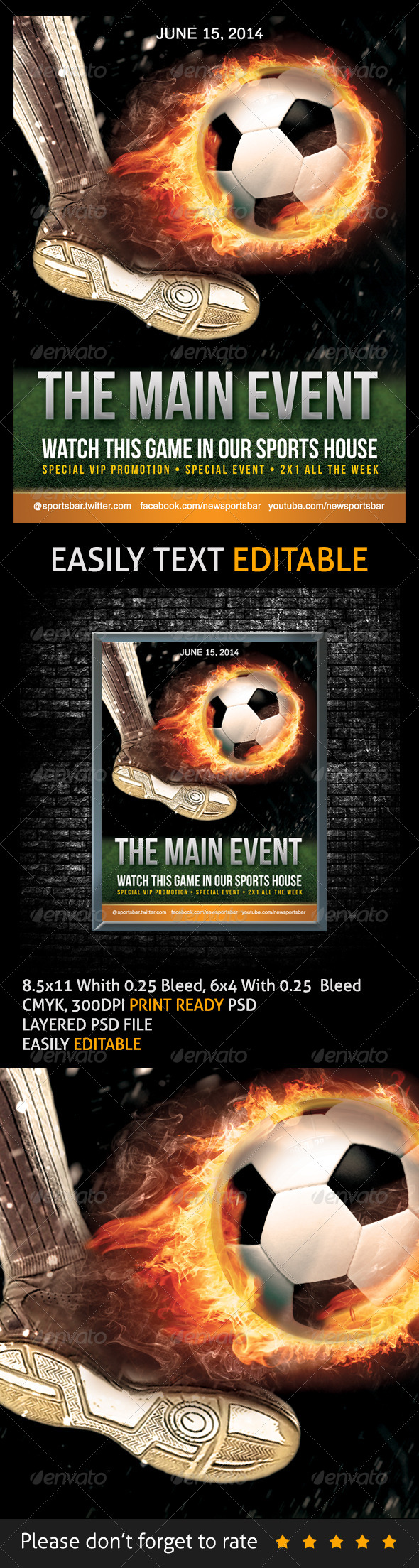 GraphicRiver Soccer Poster 7503275