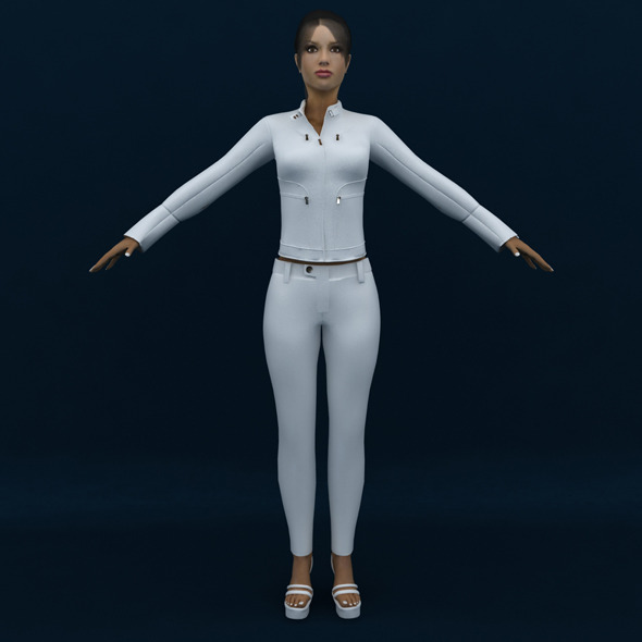 3DOcean Female 3D Model 7509122