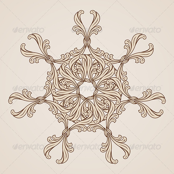 GraphicRiver Floral Pattern 7509551