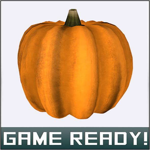 Autumn Pumpkin #5 - 3DOcean Item for Sale