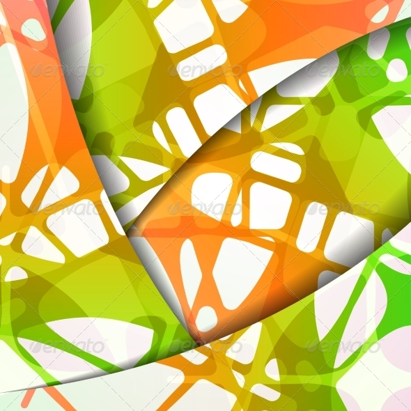 GraphicRiver Colorful Abstract Background 7509571