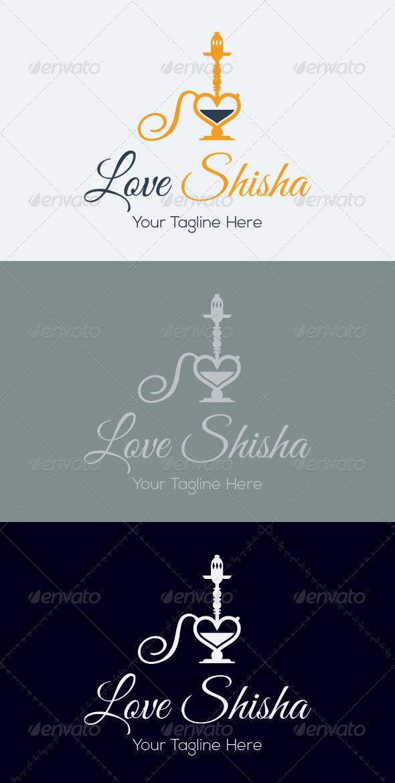 GraphicRiver Love Shisha Logo Template 7509573