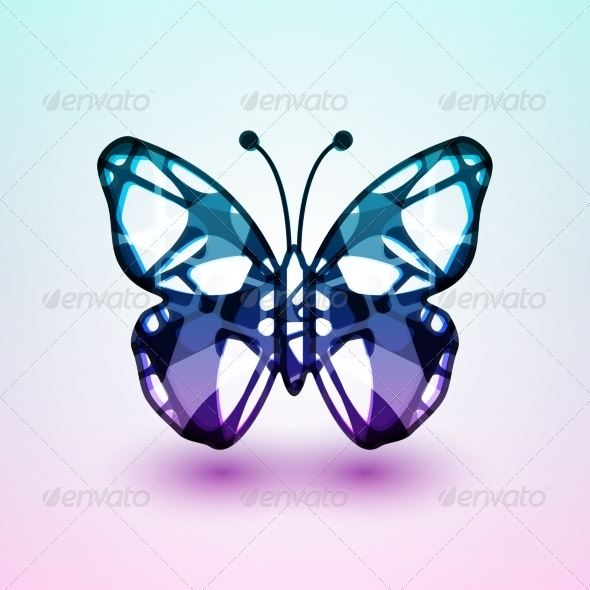 GraphicRiver Abstract Butterfly 7509574