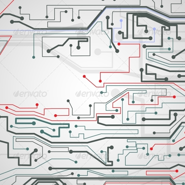 GraphicRiver Circuit Board Background 7509582