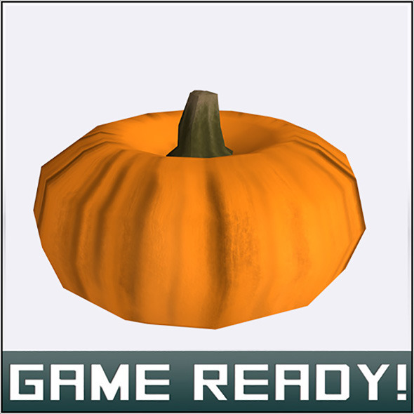 Autumn Pumpkin #6 - 3DOcean Item for Sale