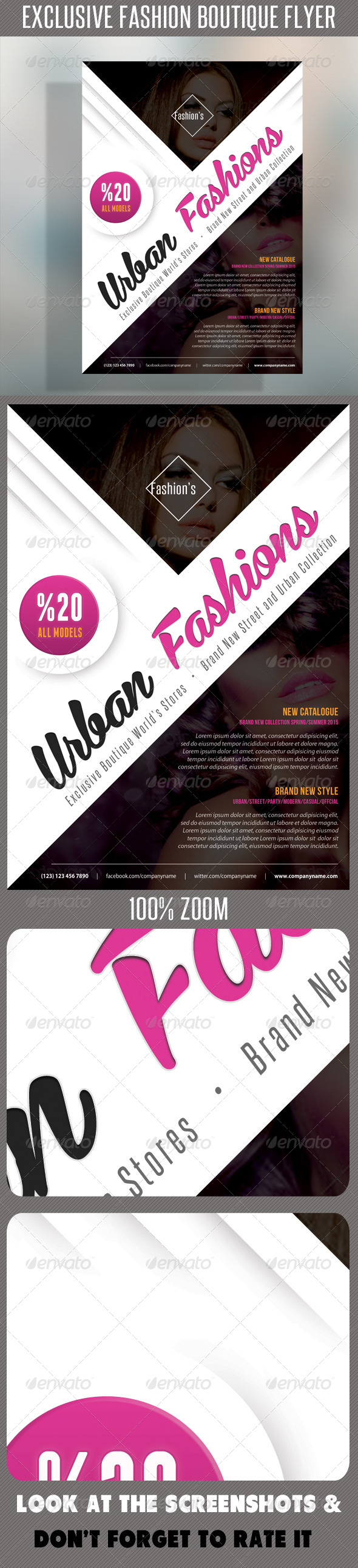 GraphicRiver Fashion Product Flyer 52 7509624