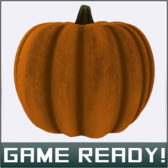 3DOcean Autumn Pumpkin #8 7509767