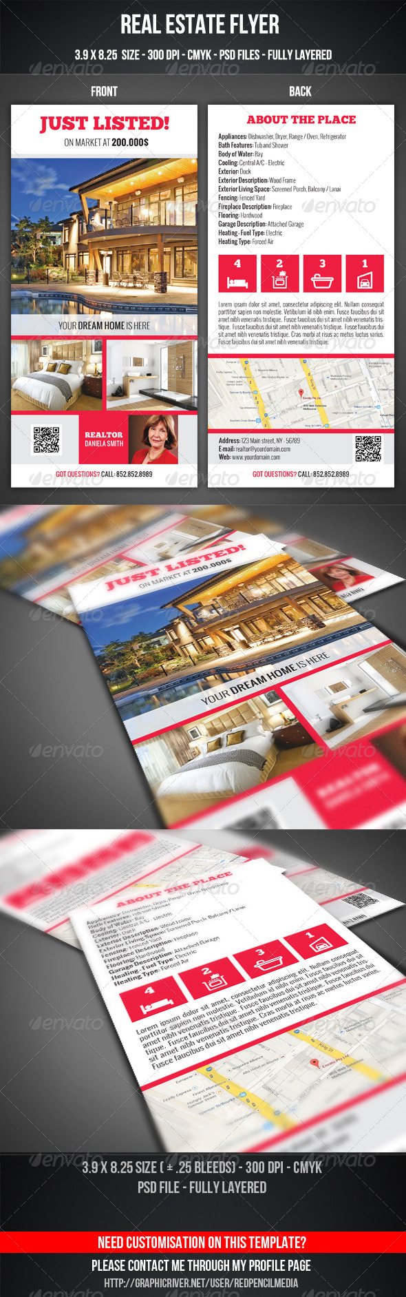 GraphicRiver Real Estate Flyer 7510462