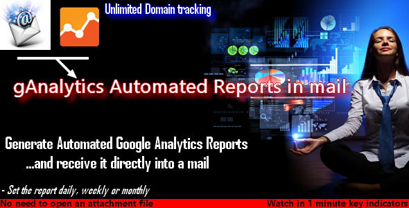 CodeCanyon gAnalytics Automated Reports in mail 7510596