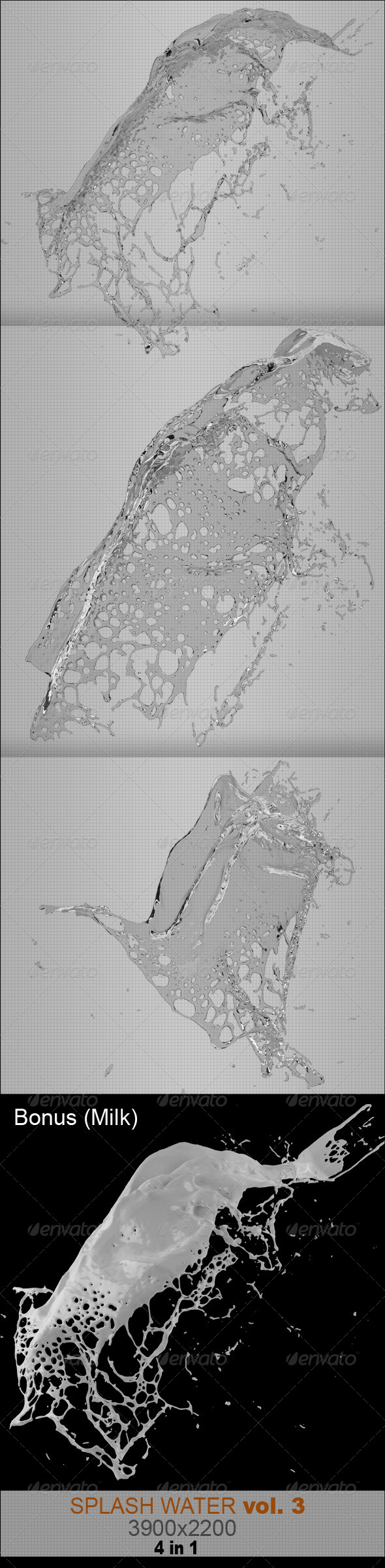 GraphicRiver Water Splash Vol.3 7510724