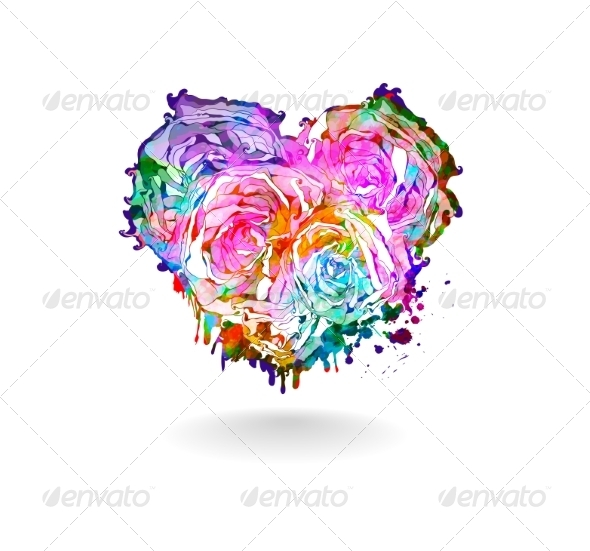 GraphicRiver Abstract heart Vector illustration EPS 10 7510814