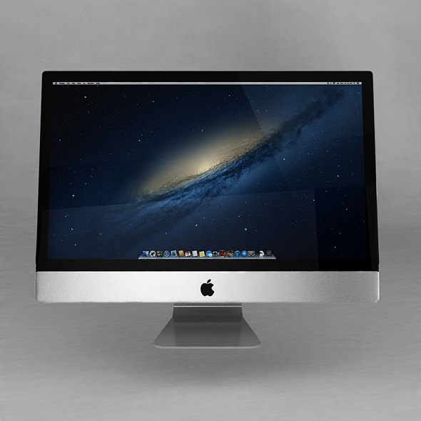 New Apple iMac 2013  - 3DOcean Item for Sale