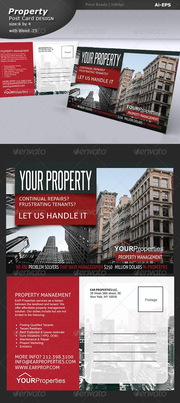 GraphicRiver Real Estate Post Card 7511053