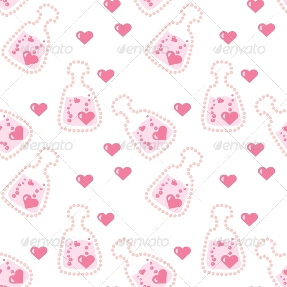 GraphicRiver Seamless Love Potion Texture 7511118
