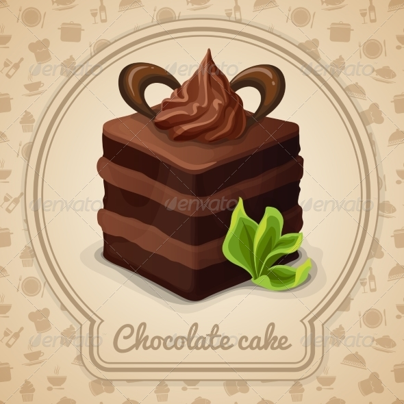 GraphicRiver Chocolate Cake Poster 7511232