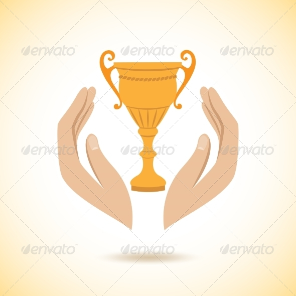 Hands Hold Protect Cup