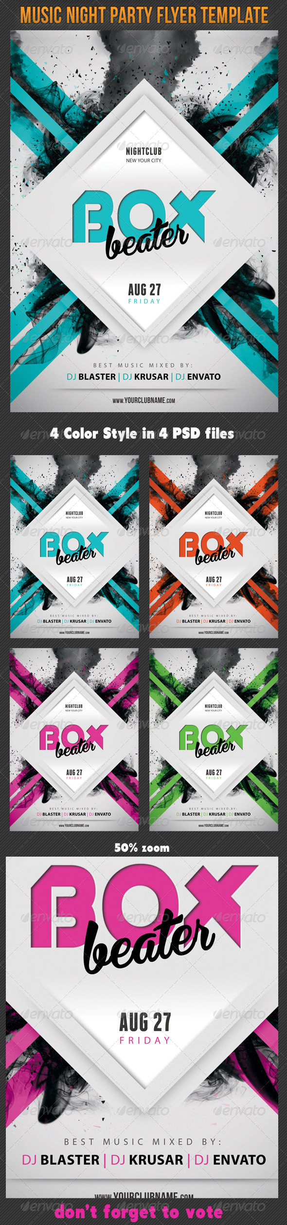 GraphicRiver Music Night Party Flyer Template 10 7511319