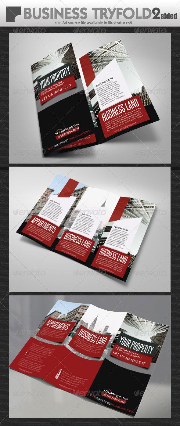 GraphicRiver Property Brochure Design 7511634