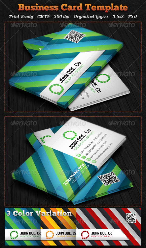 GraphicRiver Creative Business Card 7503764