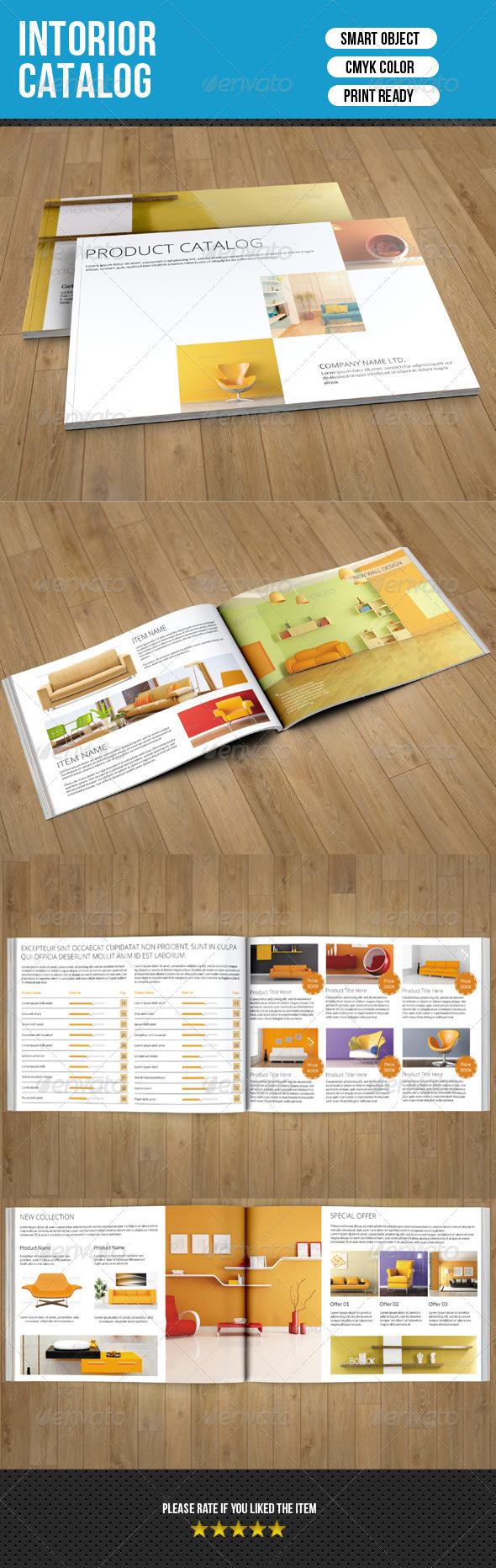 GraphicRiver Interior Catalog Template 7511882