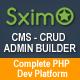 Laravel CMS - CRUD Builder - Administrator