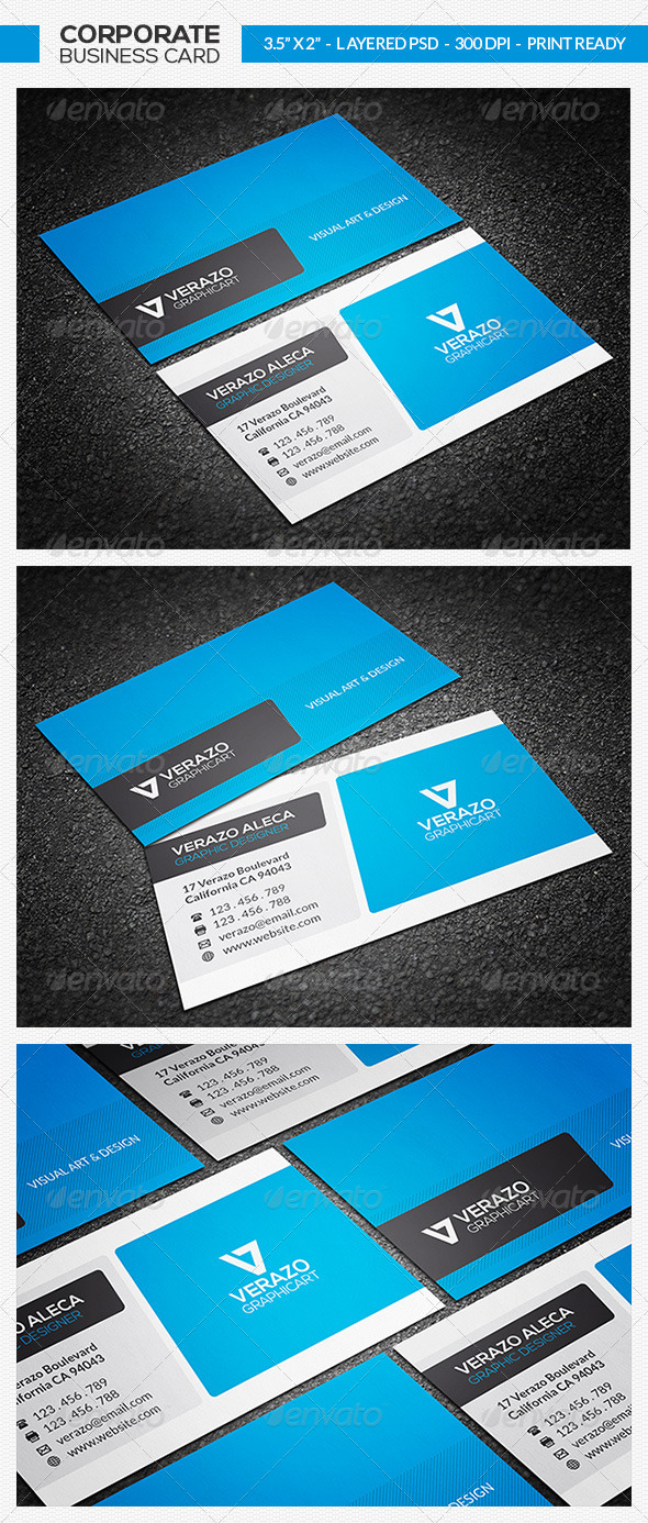 GraphicRiver Corporate Business Card 28 7512089