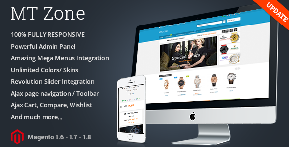 MT Zone Multipurpose Magento Theme
