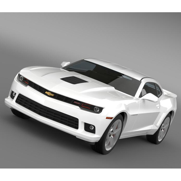 Chevrolet Camaro SS 2014 - 3DOcean Item for Sale