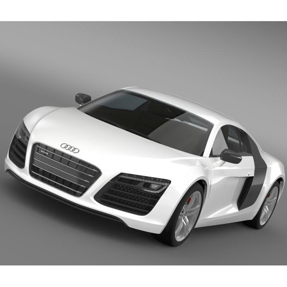Audi r8 2013 - 3DOcean Item for Sale