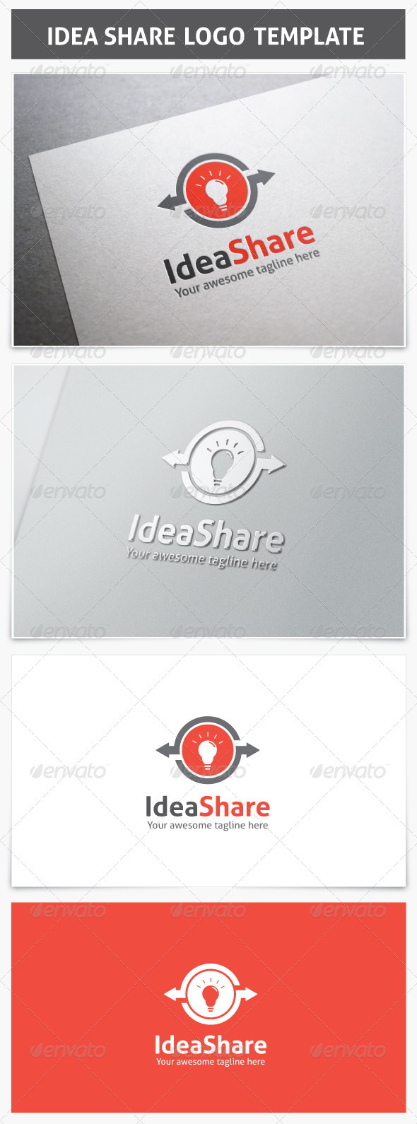GraphicRiver Idea Share Logo 7512605