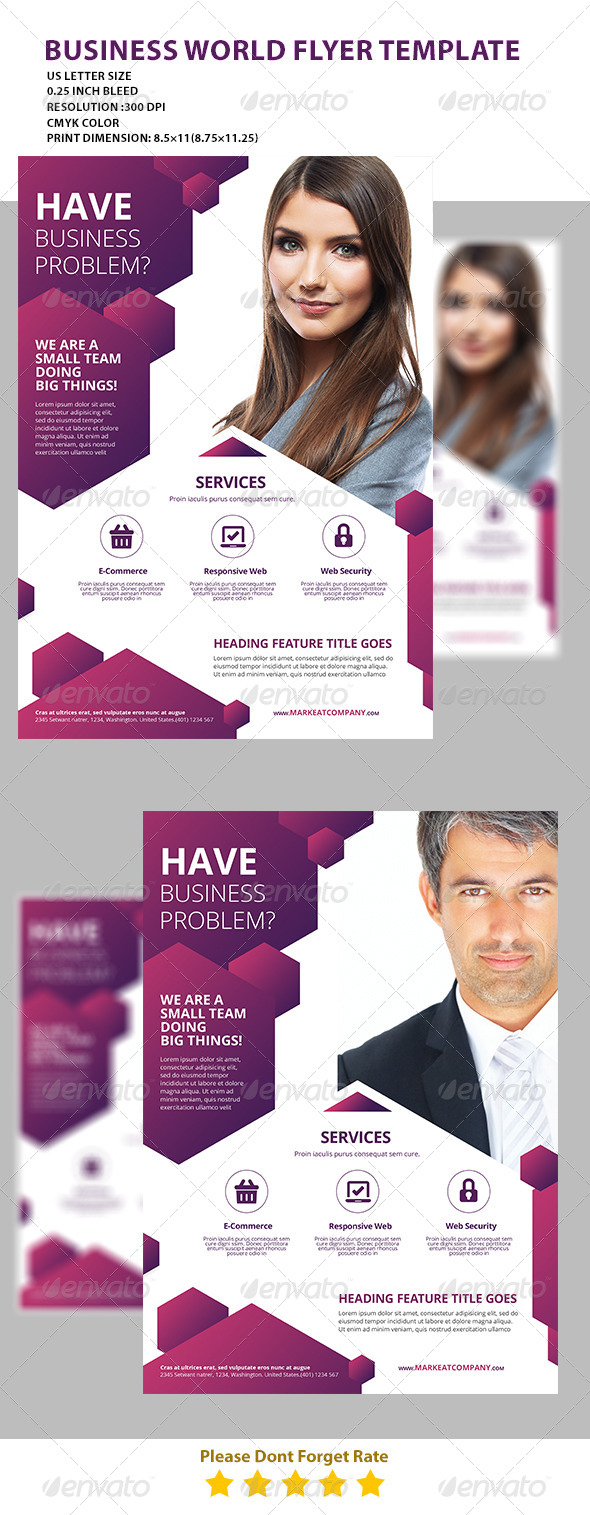 GraphicRiver Modern Creative Flyer 3 7512640