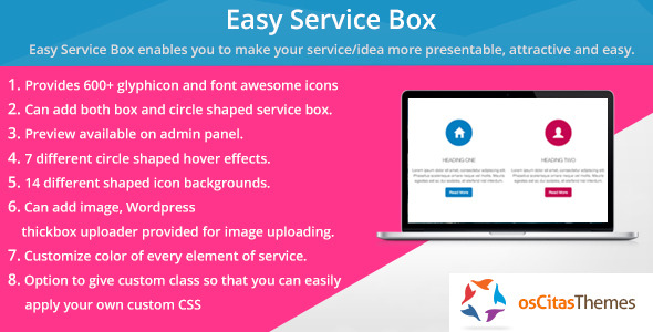 CodeCanyon Easy Service Box Shortcode 7512797
