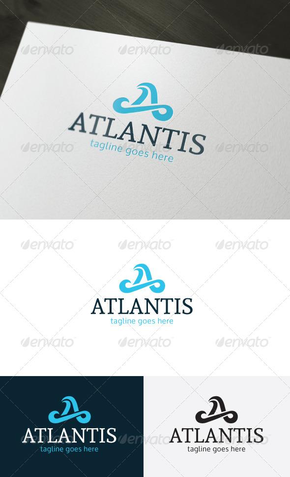 GraphicRiver Atlantis Logo Letter A 7512841