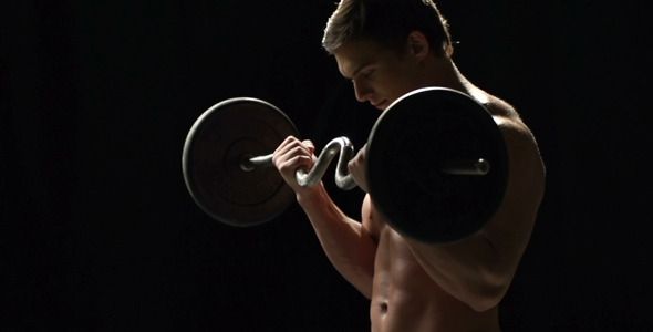 VideoHive Barbell Push 7512927