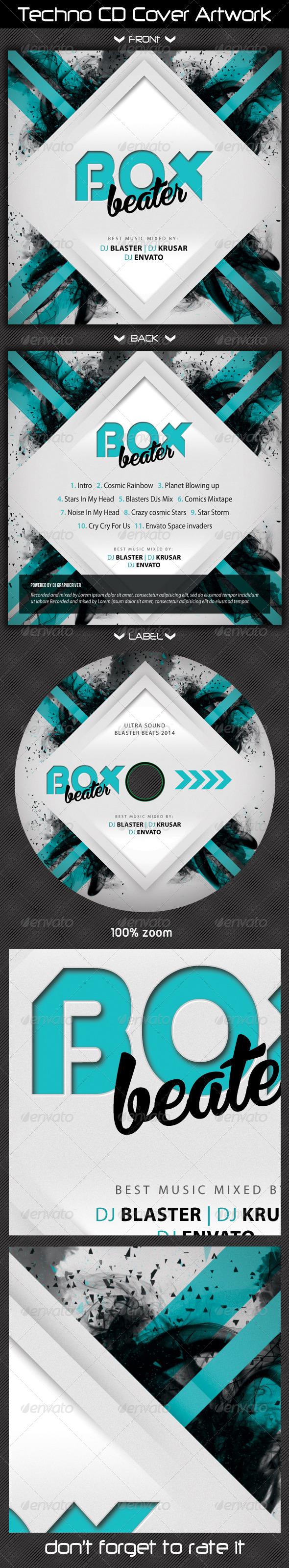 GraphicRiver Techno CD Cover Artwork 03 7512951