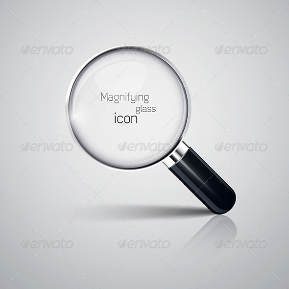 GraphicRiver Magnifying Glass Icon 7513071
