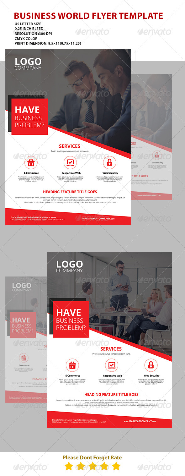 GraphicRiver Modern Creative Flyer 5 7513073