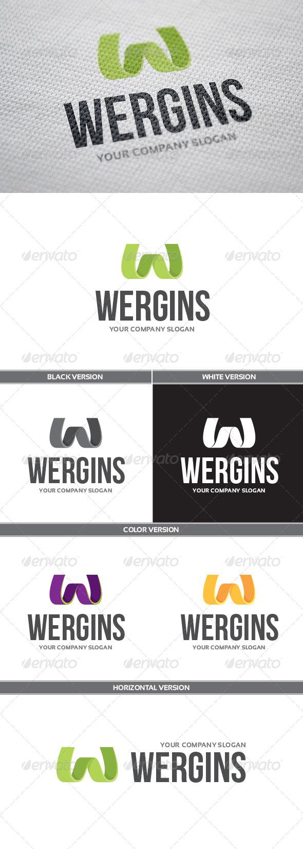 GraphicRiver Wergins Logo 7513088