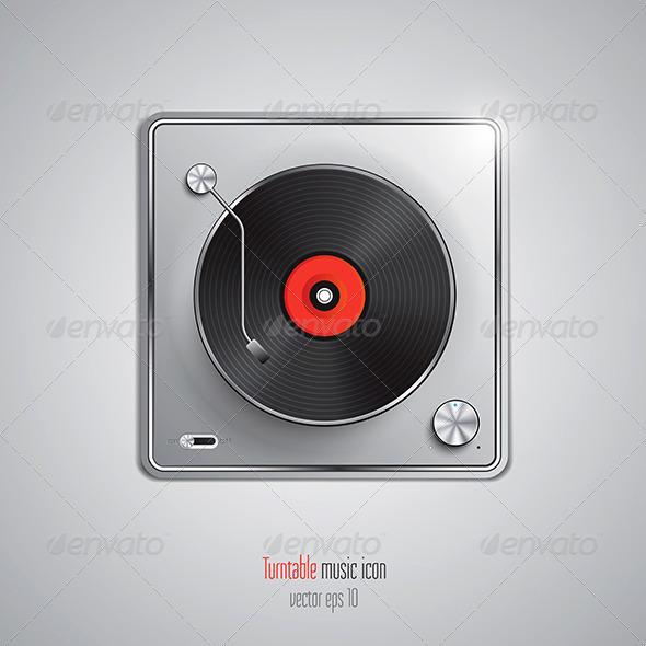 GraphicRiver Music App Icon 7513097