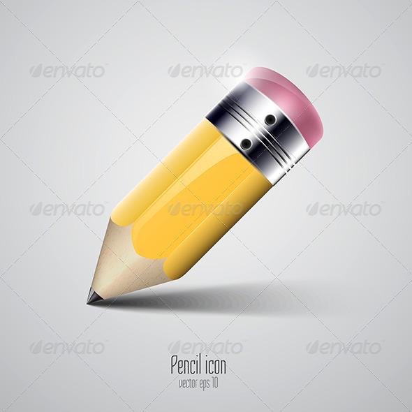 GraphicRiver Pencil Icon 7513163