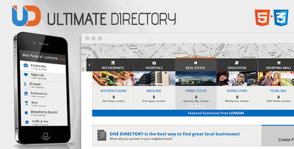 Directory - Responsive Site Template