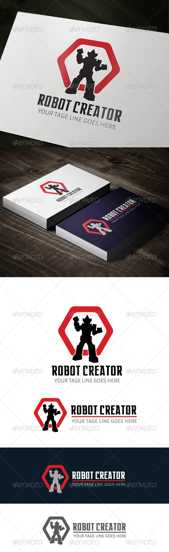 GraphicRiver Robot Creator 7513414