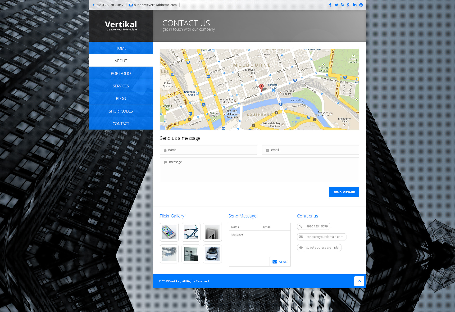 Vertikal | Responsive WordPress Theme