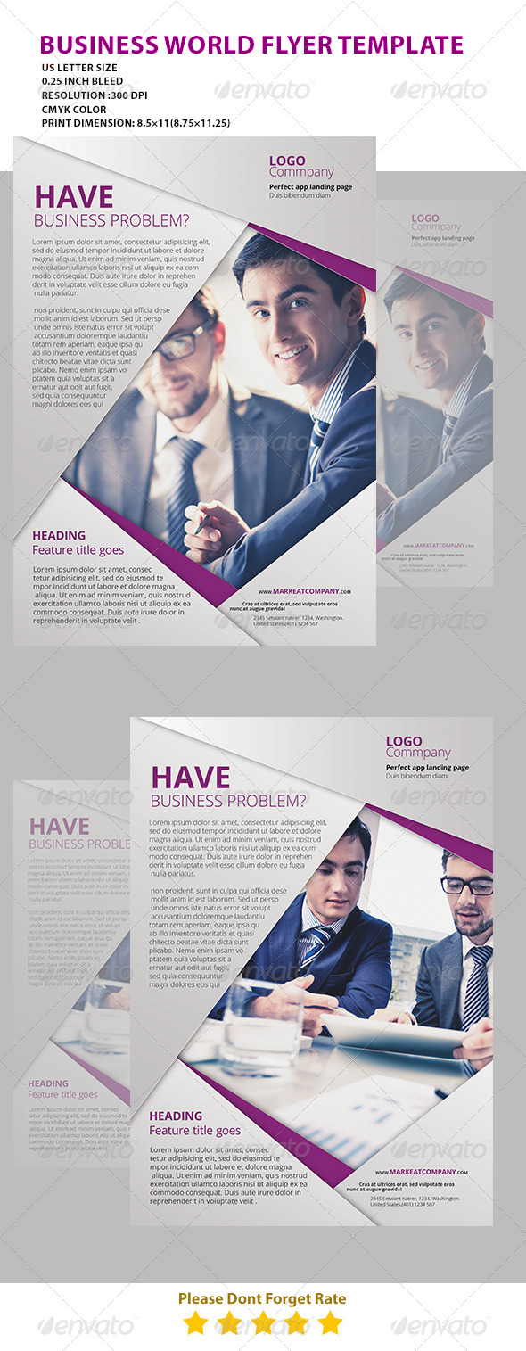 GraphicRiver Modern Creative Flyer top 7513608