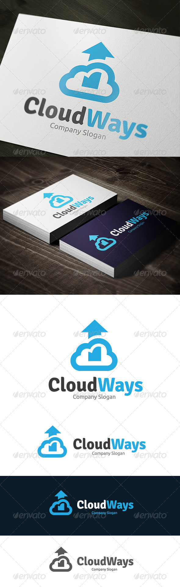 GraphicRiver Cloud Ways 7513704