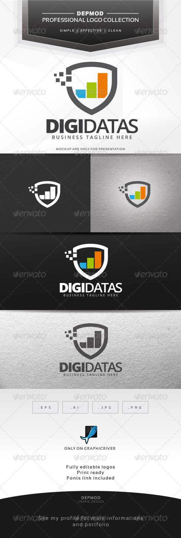 GraphicRiver Digi Datas Logo 7513728