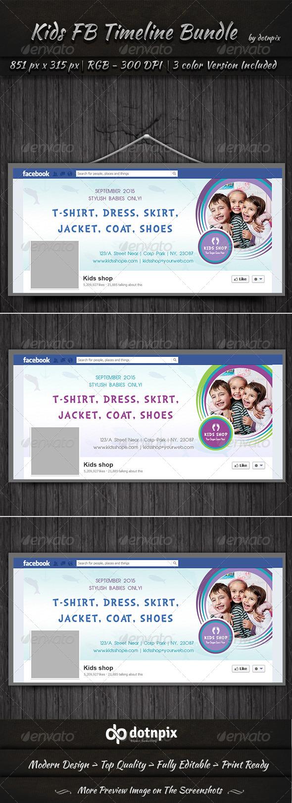 GraphicRiver Kids FB Timeline 7513836