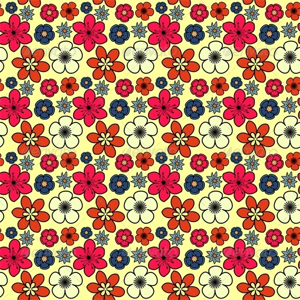 GraphicRiver Floral Pattern 7513851