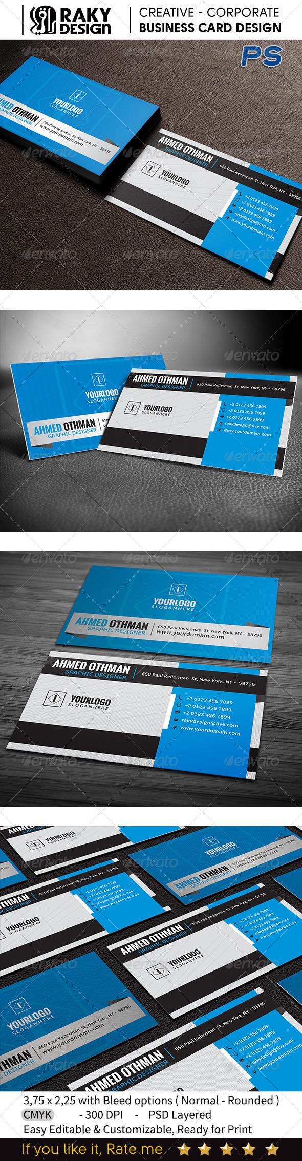 GraphicRiver Creative Business Card V10 7513859