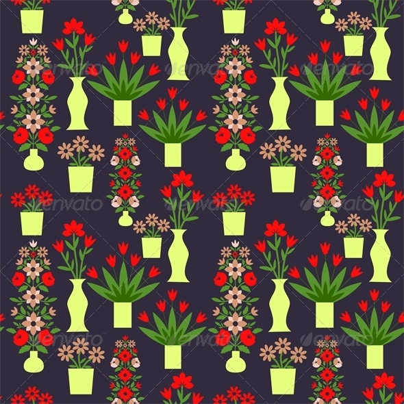 GraphicRiver Floral Pattern 7513868